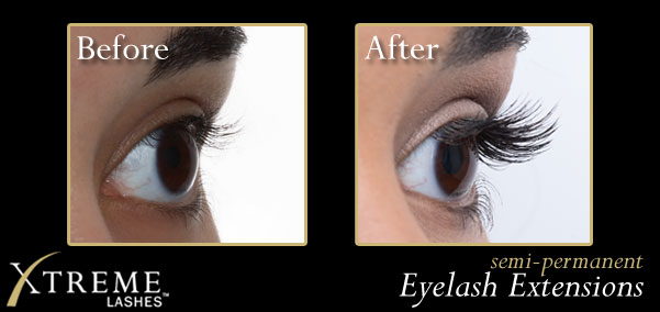 xtreme permanent eyelash extensions